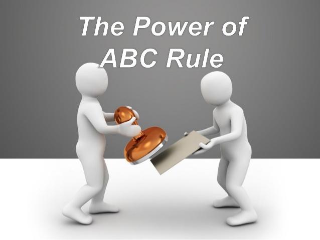 ABC Rule
